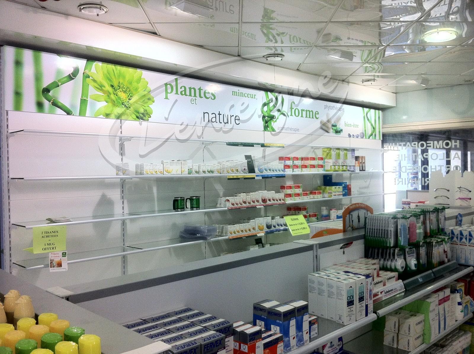 Decoration Zen Et Vegetale Pour La Pharmacie Metro La Rose A